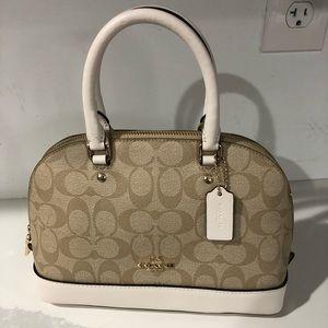 Coach Bags - Coach mini Sierra crossbody bag leather